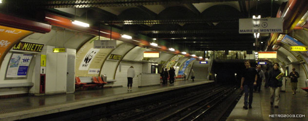 La Muette(ラ・ミュエット駅)...