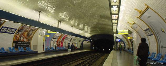 paris metro(パリのメトロ)Alma-Marceau></div>  <div id=