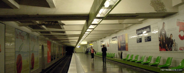 パリのメトロ Station de Métro parisien Grands Boulevards