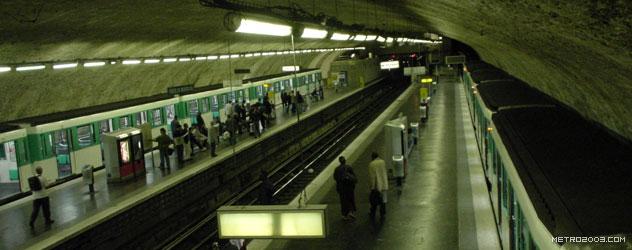 paris metro(パリのメトロ)Porte de Montreuil></div>  <div id=